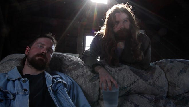 "Memphis actors Brett Trail (left) and Charlie Metz III head the cast of ""I Filmed Your Death."""