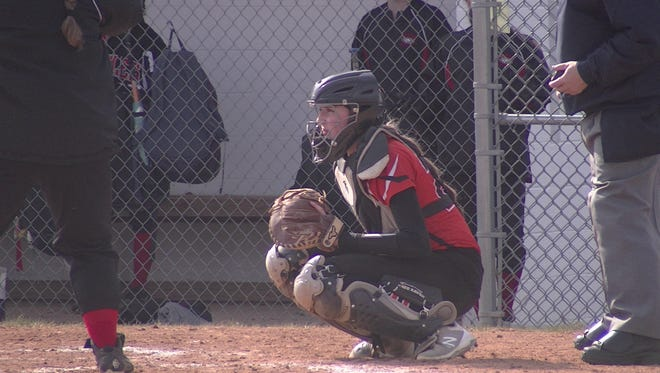 Northeastern catcher Haley Updegraff has established herself as one of York County's top softball players.