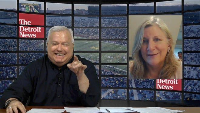 Bob Wojnowski and Angelique Chengelis talk about Michigan football on The Detroit News' College Football Show.