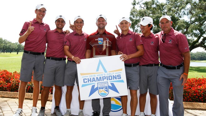 Florida Tech men's golf team won its first ever Sunshine State Conference Championship on Tuesday.