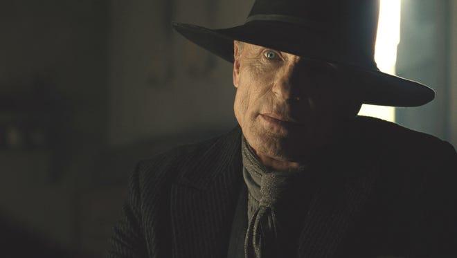 "Ed Harris as William/the Man in Black on ""Westworld."""