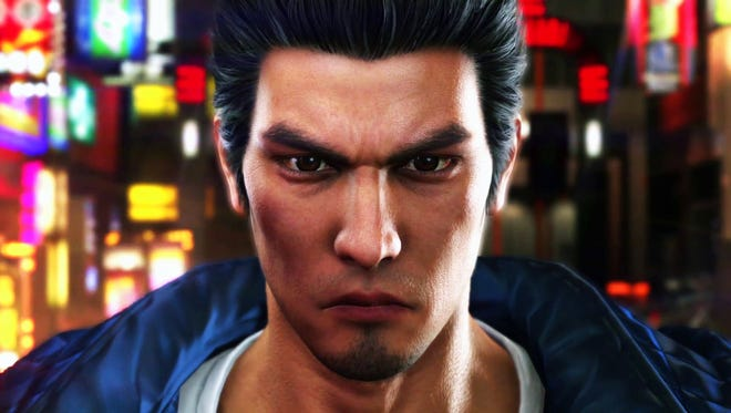 Kazuma Kiryu in Yakuza 6: The Song of Life for PlayStation 4.