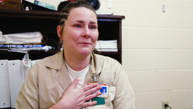 Anne Van Pelt is incredibly thankful for the opportunity to connect with her daughter while she serves her sentence.