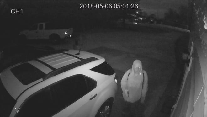The Manitowoc County Sheriff's Department is looking for this suspect caught on video stealing from parked cars.