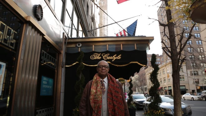 """""""Always at the Carlyle"""" features Dwight Owsley, who spent 36 years as head concierge at the New York hotel."""