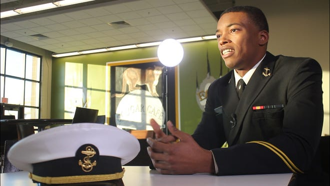 D'vondre Williamson is a Midshipmen in the U.S. Naval Academy and a proud alumnus of the Jackson-Madison County School System.