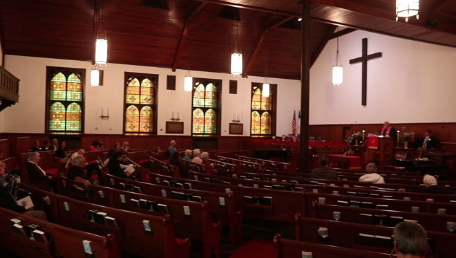 The First Presbyterian Church in Lakewood recently held a 150th Anniversary Service to celebrate the milestone. Lakewood, NJSaturday, May 19, 2018@dhoodhood