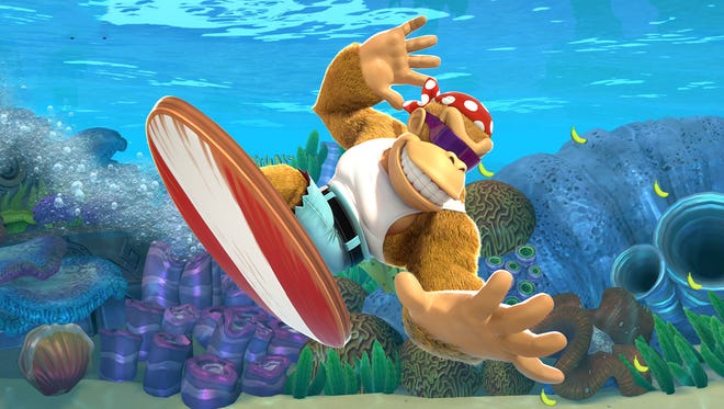"""Funky Kong enters the fray in """"Donkey Kong Country: Tropical Freeze"""" for the Nintendo Switch."""