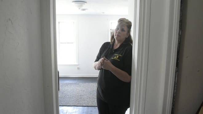 Gina DeMaria recently opened a new recovery home for men in Hanover, The Dominic House. DeMaria started the nonprofit, Anthony's Way, four years ago after her son died from a heroin overdose.