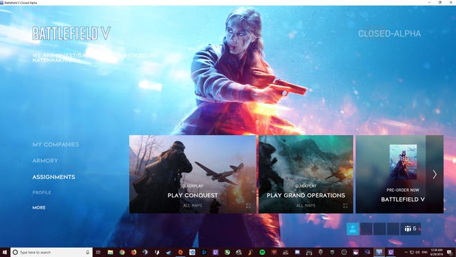 The Battlefield V Closed Alpha shows great promise but has some issues to work out before the October release.