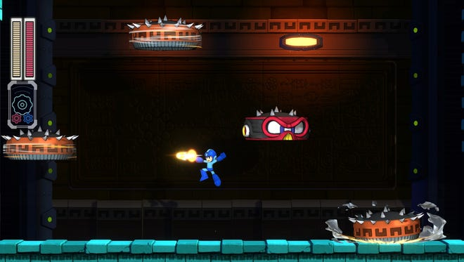 A screenshot from Mega Man 11 for  PC, PS4, Switch and Xbox One.