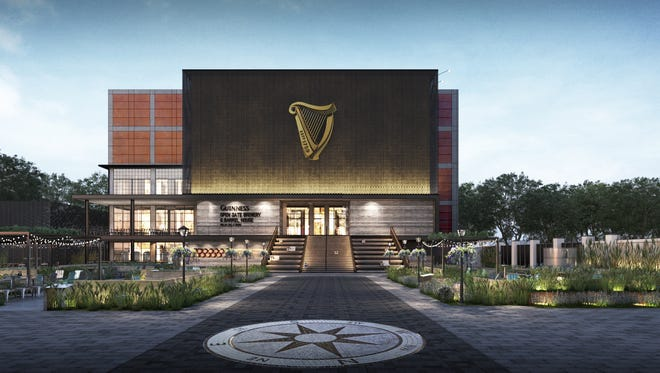 The Guinness Open Gate Brewery & Barrel House, located just south of Baltimore, is scheduled to open to the public on Aug. 3, 2018.