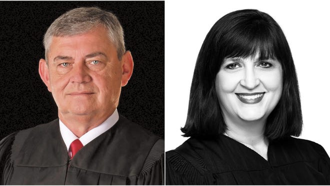 "James M. ""Jimbo"" Stephens and Sharon Marchman are seeking the same seat on the 2nd Circuit Judicial District Court."