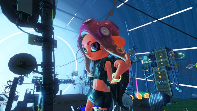 Agent 8 enters the fray in Splatoon 2's Octo Expansion DLC.