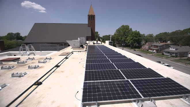 - The Archdiocese of Louisville's headquarters on Poplar Level Road is now home to the first diocesan-based solar array in the greater Kentucky region.