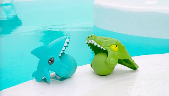 Aqua Creatures Water Squirterz. Retail for $7.68, for