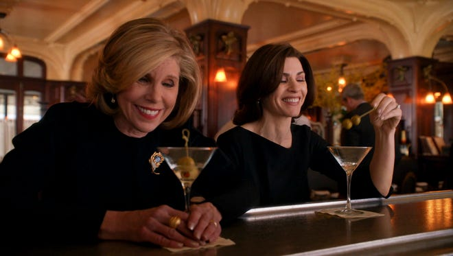 """Christine Baranski (left) and Julianna Margulies star in """"The Good Wife,"""" one of the series to be featured on the new over-the-air channel Start TV."""