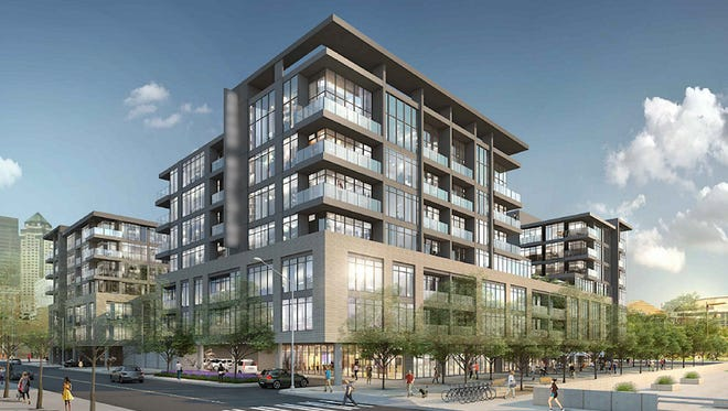 Hubbell Realty Co. has released updated plans for a $75 million, 115-unit condominium project at the former Riverfront YMCA site.