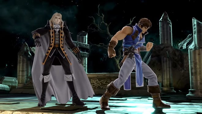Richter joins Super Smash Bros. Ultimate on the Switch as a playable character while Alucard acts as an Assist character.