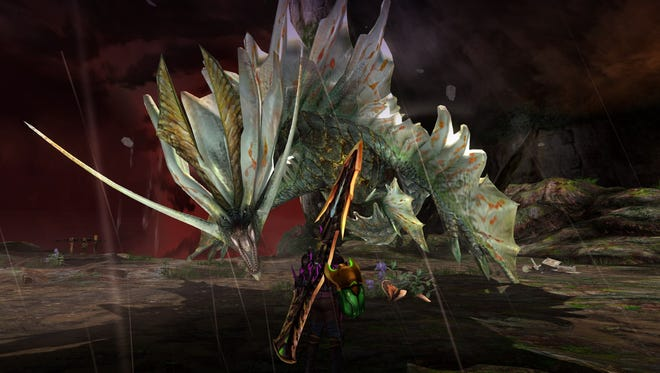 The dragon Amatsu in Monster Hunter Generations Ultimate for Nintendo Switch.