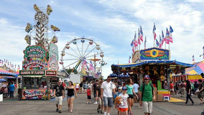 The Minnesota State Fair wraps up its 2018 season Monday.