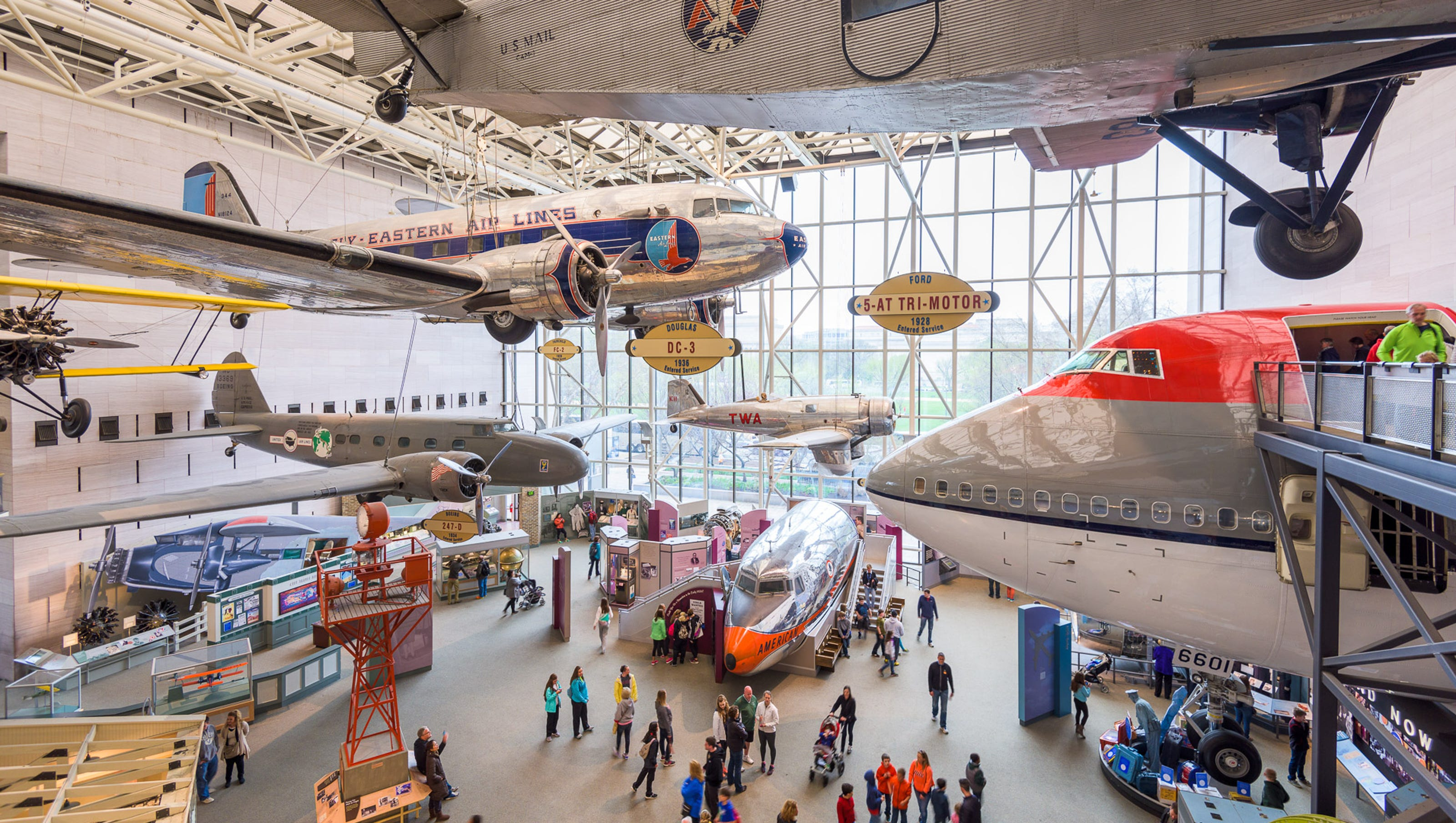 Smithsonian National Air And Space Museum To Begin 7 Year