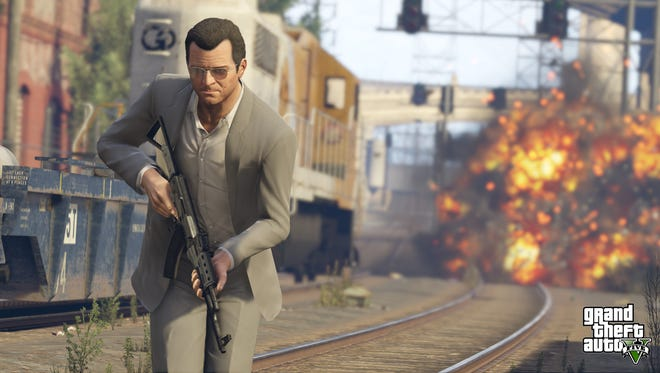 'Grand Theft Auto V' on PlayStation 4 and Xbox ONe.