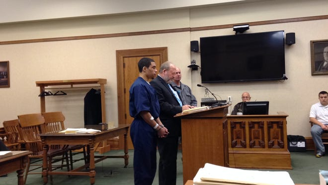 Tyrel Bredernitz was sentenced in court today in the killing of MSU student Dustyn Frolka.