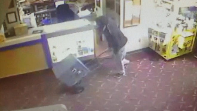On Oct.. 31, a Montgomery tennager attacked a janitor during a robbery of Bama Lanes.