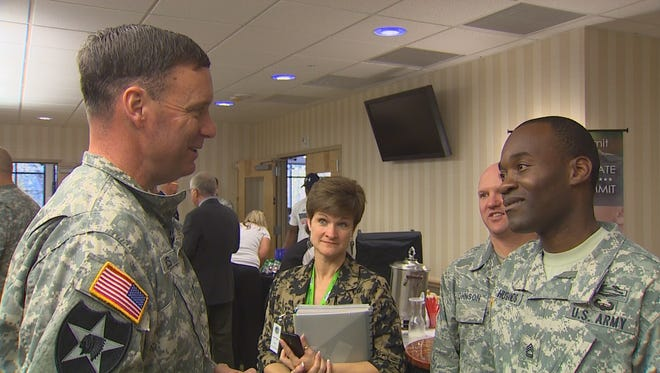 The Service Member for Life Transition Summit at Joint Base Lewis-McChord aims to help servicemembers find employment after their military career ends.