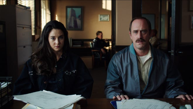 """Shailene Woodley and Christopher Meloni star in """"White Bird in a Blizzard."""""""