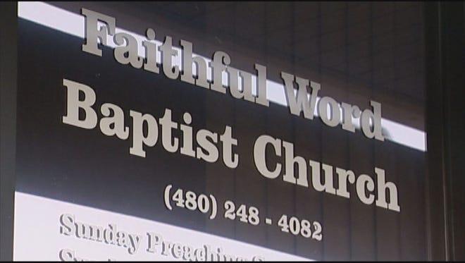 Faithful Word Baptist Church in Tempe.