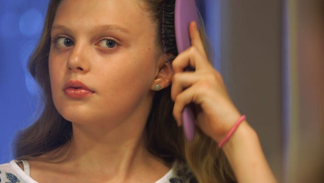 """Transgender teen Ariel, formerly Ian, in a scene from """"Growing Up Trans"""", from the """"Frontline"""" series airing on PBS on Tuesday, June 30, 2015. """"Growing Up Trans"""" explores the transgender phenomenon as younger people than ever and their parents are now experiencing it."""
