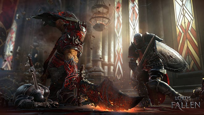 """Lords of the Fallen"" for PC, PS4 and Xbox One features more technical gameplay in a medieval fantasy setting."