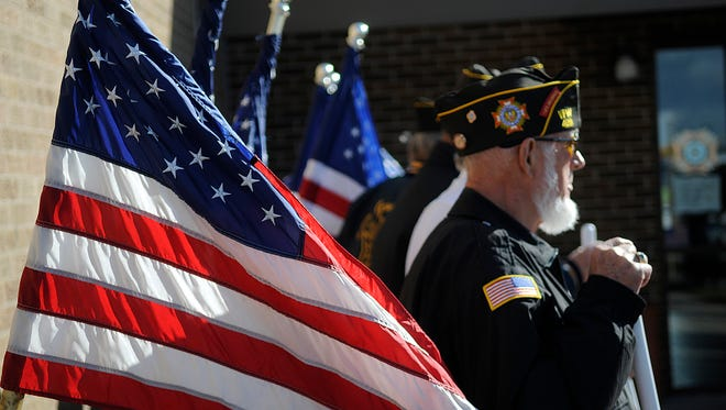 The VFW Granite Post 284 will be installing a black granite monument on Memorial Day 2015. The black granite is sourced from India and will be inscribed with names of veterans who served both during peacetime and wartime.