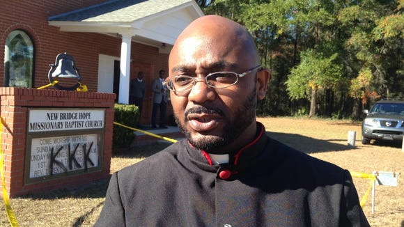 Derek Howard, pastor of New Bridge Missionary Baptist Church