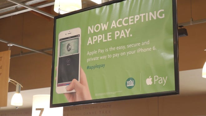 Apple Pay live at Whole Foods