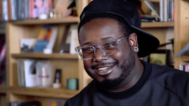 T-Pain performs an intimate concert without auto-tune for NPR's Tiny Desk series.