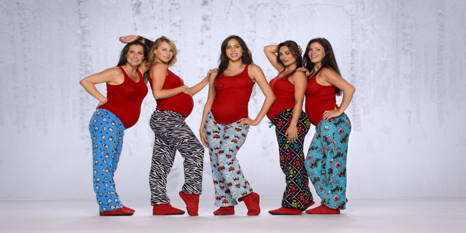 Dancing Joe Boxer ad has amusing pregnant pause