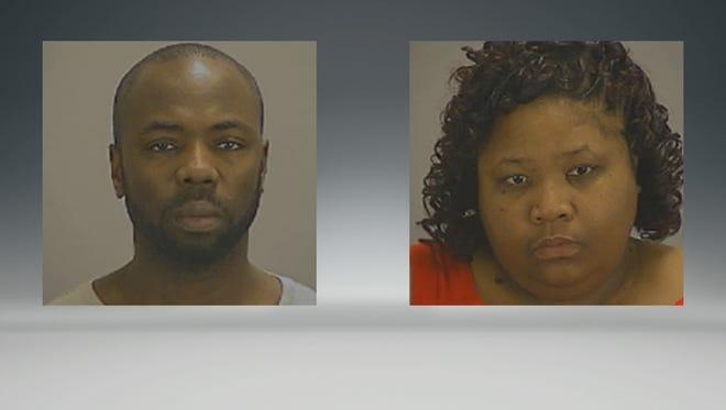 Gregory Jean and Samantha Joy Davis were denied bond.