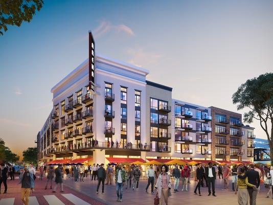 The Arena Lofts rendering