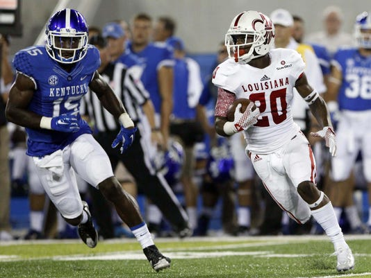 NCAA Football: UL Lafayette at Kentucky