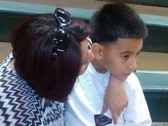 El pequeño Gael es una promesa en el taekwondo.