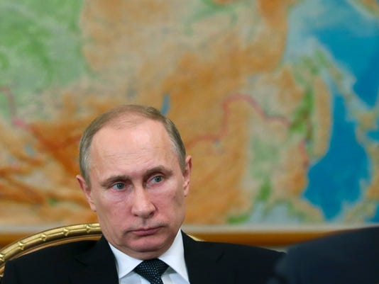 AP RUSSIA PUTIN I RUS