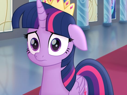 """""""My Little Pony: The Movie"""" features Twilight Sparkle."""