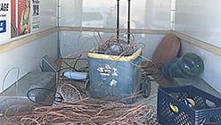 Copper stolen from La Quinta parks