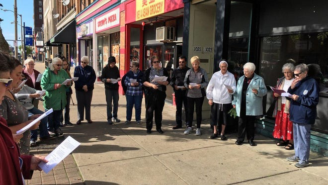 A Take Back the Site prayer vigil for Erie homicide victim James Allen Jr. was held in May 2019 outside of 1023 State St., which housed a former bottle club called The Culture. Allen's estate has filed a civil suit against the former club and its alleged owners and operators, citing negligence in Allen's death.