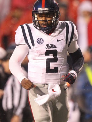 New Grambling quarterback DeVante Kincade (2) transferred from Ole Miss and is expected to play a big role in the Tigers' offense in 2016.