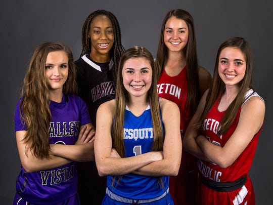 The 2016-17 All-Arizona Girls Basketball Team, from