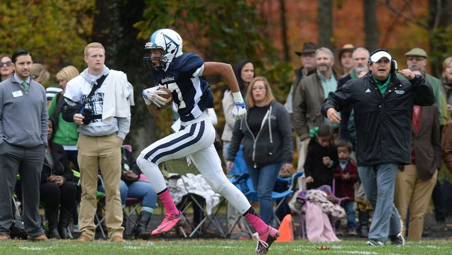 Asheville School and Christ School have played football 90 times since 1911.